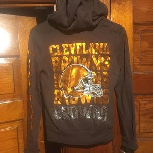 Cleveland browns pink NFL jacket